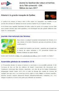 Journal Mars 2017 STTTU